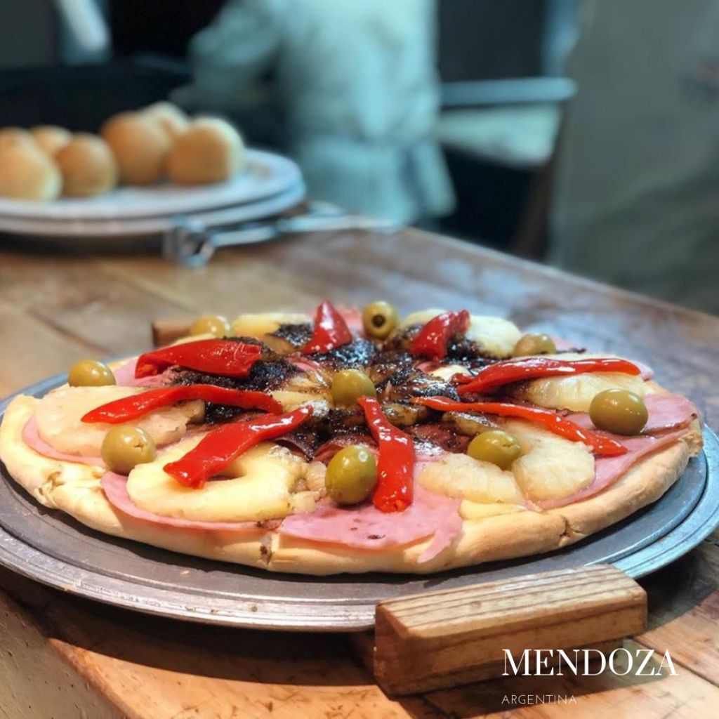 Gluten free pizza in Mendoza 2