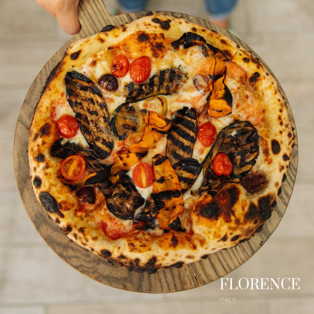 La Luna gluten free pizza: gluten free pizza place in Florence