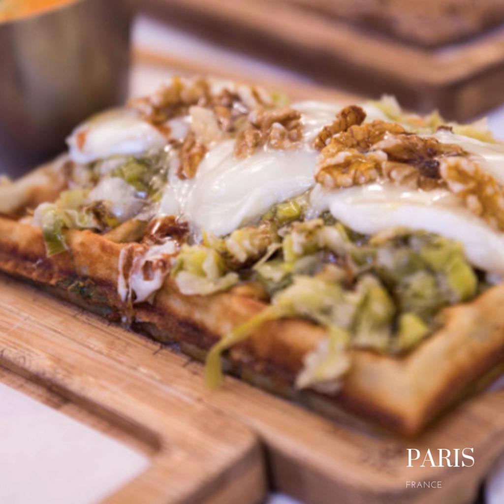 La creme de Paris waffles: gluten free crepes in Paris