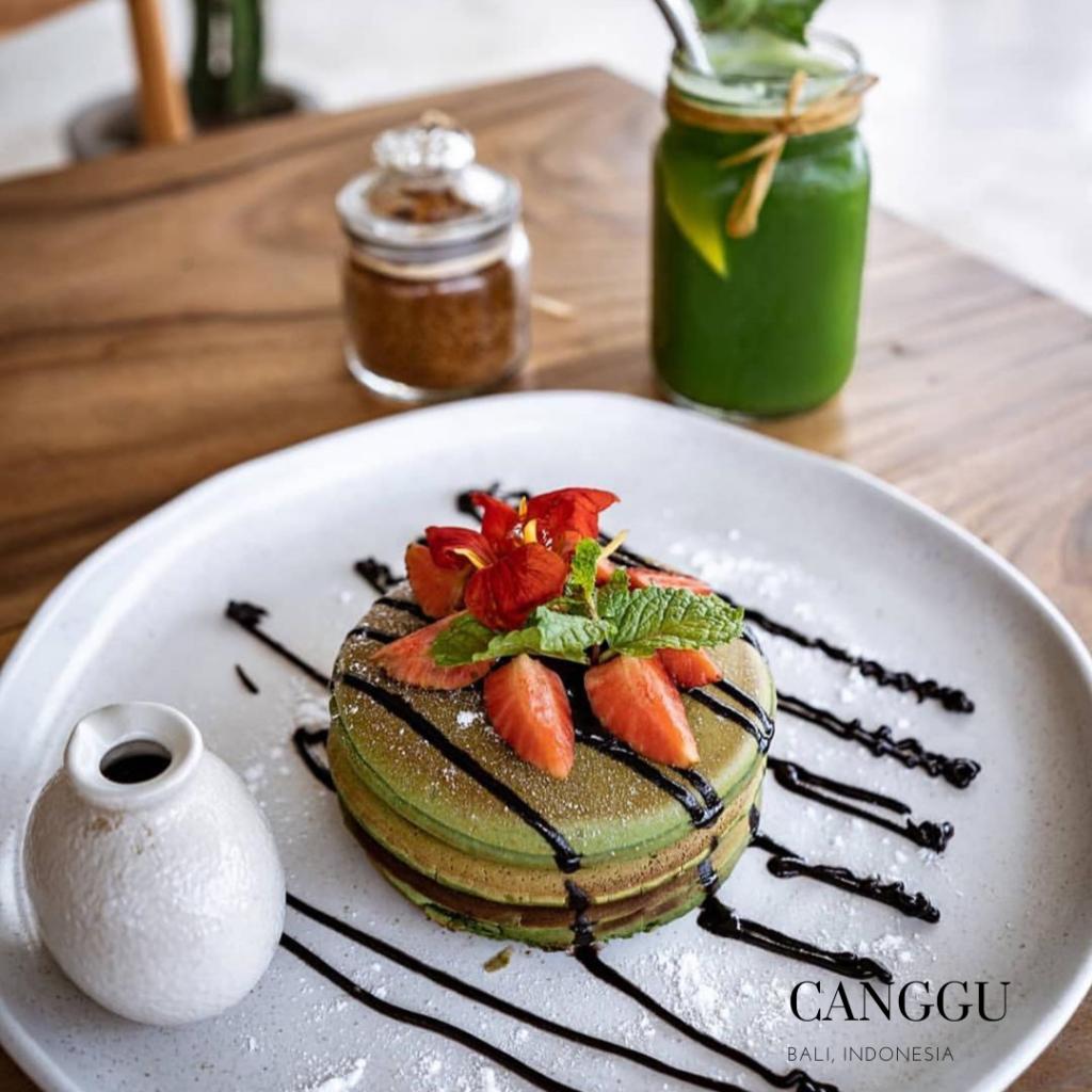 Organic gluten free in Canggu Pancake