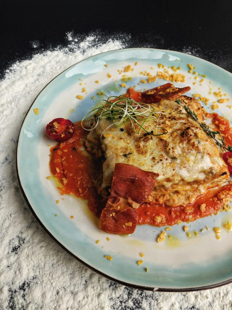 Lasagnes sans gluten maison