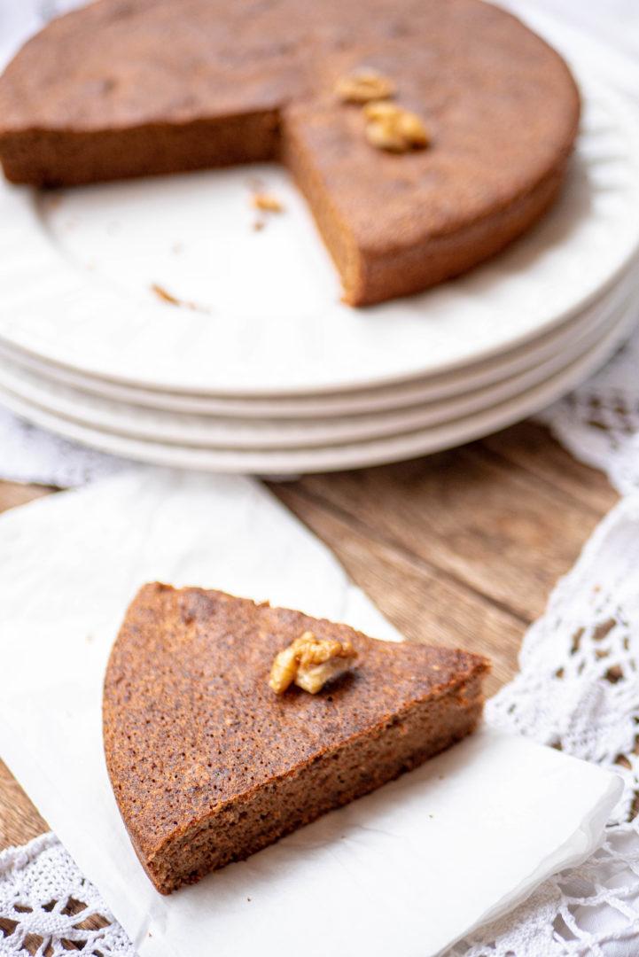 Gâteau aux noix sans gluten