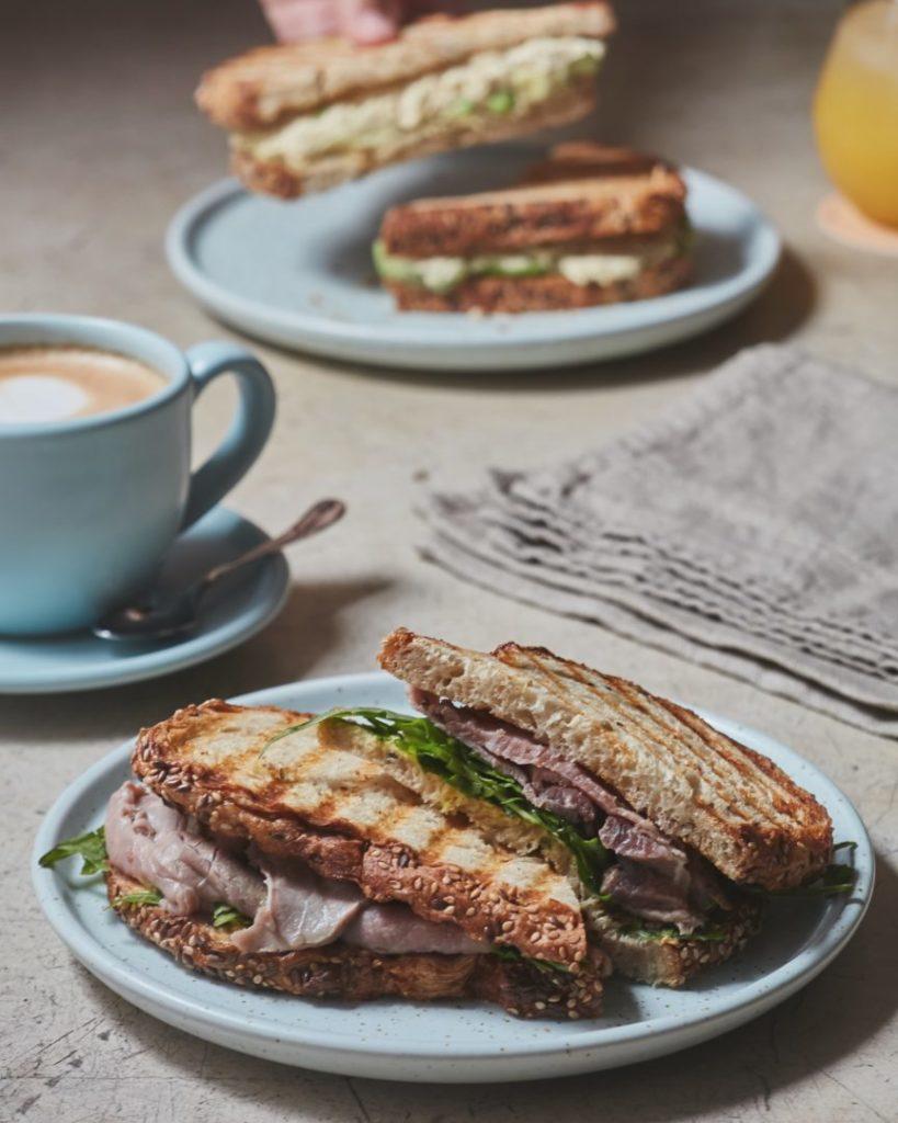 gluten free sandwich breakfast