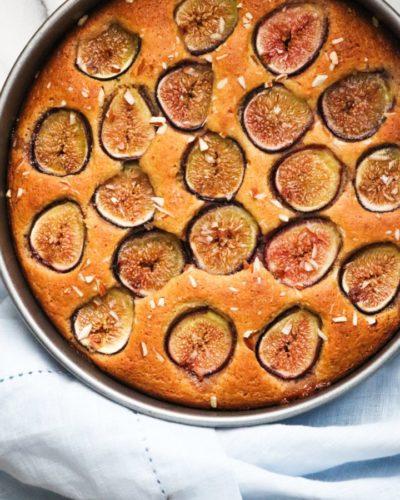 gâteau aux figues sans gluten