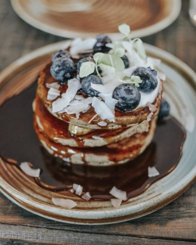pancakes au sarrasin sans gluten